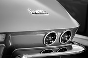 Taillights Framed Prints - 1967 Chevrolet Corvette Taillights Framed Print by Jill Reger