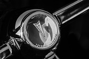 Steering Framed Prints - 1967 Pontiac Firebird Steering Wheel Emblem Framed Print by Jill Reger