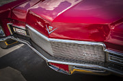Caddy Prints - 1968 Cadillac Convertible Print by Rich Franco