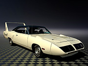 Mopar Metal Prints - 1970 Plymouth Roadrunner Superbird Metal Print by Tim McCullough