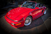 1984 Photo Framed Prints - 1984 Porsche 911 Carrera Cabriolet Slant Nose Framed Print by Rich Franco