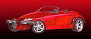 Built Painting Prints - 2002 Plymouth Prowler Print by Jack Pumphrey