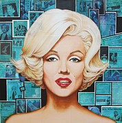 Marilyn Monroe Mixed Media - 20th Century Fox by Joseph Sonday
