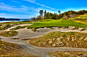 Chambers Photos - #3 at Chambers Bay Golf Course - Location of the 2015 U.S. Open Championship by David Patterson
