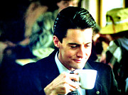 Special Agent Dale Cooper Framed Prints - A Damn Fine Cup Of Coffee Framed Print by Luis Ludzska