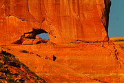 Southwestern Art Photos - A Hole In The Rock by Jeff  Swan