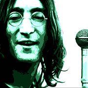 John Digital Art - A Myth of Peace Series 1 Lennon3 by Joel Loftus
