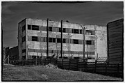 Machinery Photo Framed Prints - Abandoned factory at Vadu Framed Print by Gabriela Insuratelu