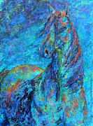 Jennifer Morrison Godshalk - Abstract Arabian