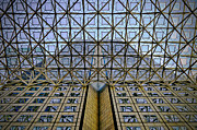 Symmetric Prints - Abstract Architecture Print by Rudy Umans