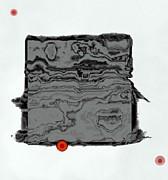 Abstract Block Print by GuoJun Pan
