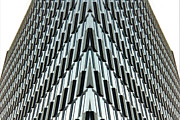 Austin Art - Abstract Buildings 4 by J D Owen
