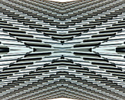 Abstract Buildings 5 Print by J D Owen