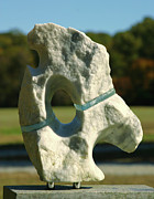 Stone Sculptures - Abstract Marble and Glass  by Tommy  Urbans
