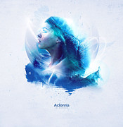 Goddess Digital Art Mixed Media - Acionna by Kiodour