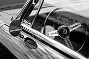 Alfa Romeo Photos - Alfa Romeo Steering Wheel by Jill Reger