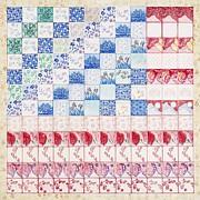 America The Beautiful Print by Elizabeth Lee