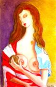 Amor Eterno Print by Mayra  Martinez