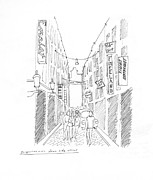 Bike Drawings - Amsterdam by Steven Tomadakis