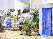 Margaret Merry - An Andalucian patio