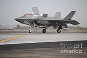 Military Strike Posters - An F-35b Lightning Ii Joint Strike Poster by Stocktrek Images