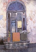 Cuba Pastels - Ancient dwelling2 by Howard Scherer