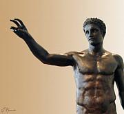 Antikythera Statue Print by Ellen Henneke