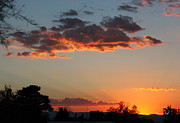 Backlit Prints - Arizona Sunset III Print by Suzanne Gaff
