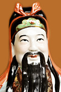 Asian Culture Prints - Asian figurine Print by Tommy Hammarsten