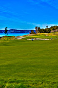 Us Open Photo Metal Prints - #2 at Chambers Bay Golf Course - Location of the 2015 U.S. Open Championship Metal Print by David Patterson