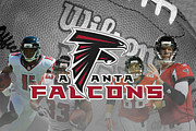 Gonzalez Framed Prints - Atlanta Falcons Framed Print by Joe Hamilton