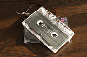 Data Photo Originals - Audio tape cassettes with subtracted out tape.  by Deyan Georgiev