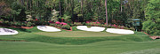 Amen Photos - Augusta National Golf Club Hole 13 Azalea by Phil Reich