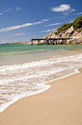 Tim Hester Prints - Australian Beach Print by Tim Hester