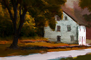 House Digital Art - Autumn At Home by Ron Jones