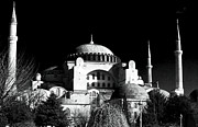 Byzantine Photo Acrylic Prints - Aya Sofya Acrylic Print by John Rizzuto