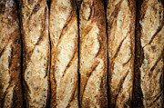 Golden Brown Prints - Baguettes Print by Elena Elisseeva