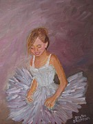 Portraits Metal Prints - Ballerina 2 Metal Print by Stella Sherman