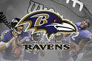 Ravens Photos - Baltimore Ravens by Joe Hamilton