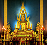 Doug Fisher Prints - Bangkok Buddha Print by Douglas J Fisher
