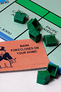 Monopoly Art - Bank Forclosure  by Amy Cicconi