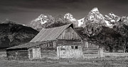 Jerry Fornarotto - Barn and Tetons