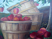 Glenda Barrett - Baskets of Apples