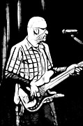 Bass Player Print by Lars Tuchel