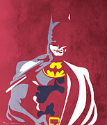 Human Being Prints - Batman 5  Print by Mark Ashkenazi