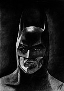 Kim Drawings - Batman by Salman Ravish