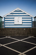 Dayne Prints - Beach Hut 41 Print by Dayne Reast