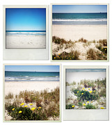 Beach Scenery Metal Prints - Beach memories Metal Print by Les Cunliffe