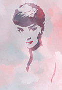 Audrey Posters - Beauty of the Century Poster by Stefan Kuhn