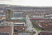 Center City Prints - Belfast City Center, Northern Ireland Print by Colin Bailie